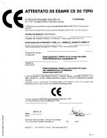 Attestato di esame CE di tipo CA50.00146 2002-01-28 04089 – attestato_04089_ce_ca50_00146_it