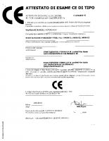 Attestato di esame CE di tipo CA50.00179 2002-09-02 04099 – attestato_ce_ca50_00179_2p_it