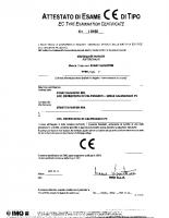 Attestato di esame CE di tipo I 0188 2005-10-11 04065 – 04065_1p_00_i0188_2005