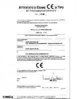 Attestato di esame CE di tipo I 0189 2005-10-11 04080 – 04080_1p_14_i0189_2005