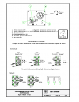 COLLEGAMENTI ELETTRICI CENTRALINE 96:U-98:U-01:U – 07230i06