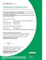 Certificato di esame di tipo IMQ 209 rev 0.pdf – IMQ 209 rev 0