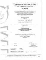 Certificato di esame di tipo IMQ209_03027 – IMQ209_03027_2015