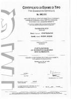 Certificato di esame di tipo IMQ210_03026 – IMQ210_03026_2015