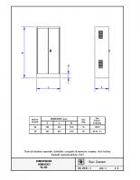 DIMENSIONI ARMADIO SL-02 (Per piattaforme) – 05210i01