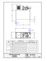 DIMENSIONI CENTRALINE 93:E-SLAE 93:E-2DSAE – 03340i01