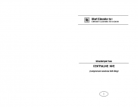 Istruzioni per l'uso CENTRALINE 90:E (comprensivo sistema Soft-Stop) – l90Ei0601