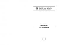 Istruzioni per l'uso CENTRALINE 90:M – lc90mi