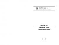 Istruzioni per l'uso CENTRALINE 93:E-SL (comprensivo sistema Soft-Stop) – l93eSLi0601