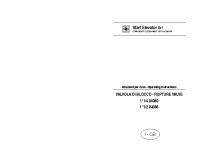 Istruzioni per l'uso VALVOLA DI BLOCCO 11:4 04080 11:2 04088 – laVB04080_04088m