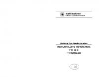 Istruzioni per l'uso VALVOLA DI BLOCCO 11:4 04110 11:2 04088 – 04089 – laVB04110_04088_04089m