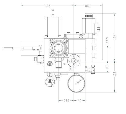 disegno tecnico centralina HSe250 2