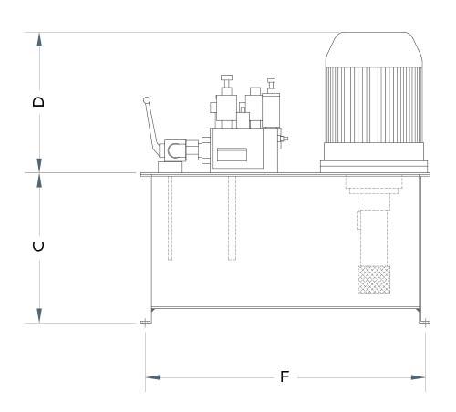 disegno tecnico centralina aria 1