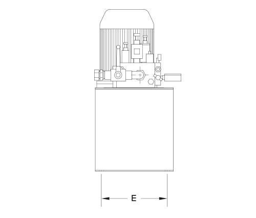 disegno tecnico centralina aria foto 3