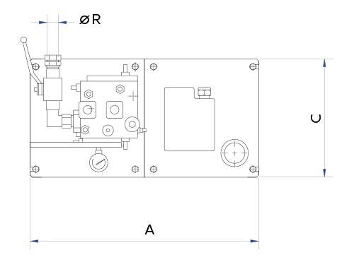 disegno tecnico centralina immersa 2