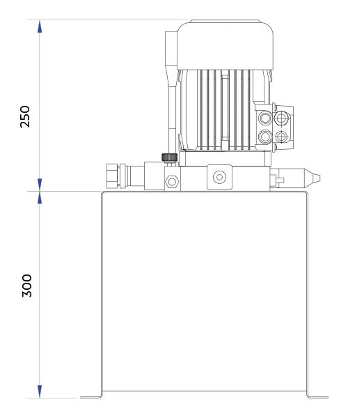 disegno tecnico centralina up-down 1