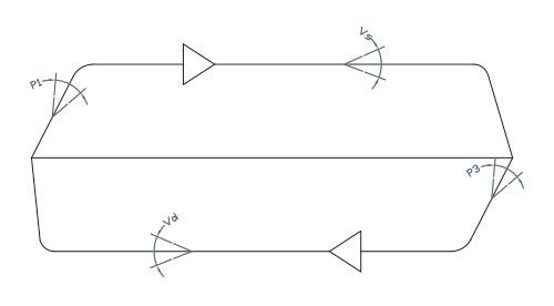 disegno tecnico gruppo valvole 98U