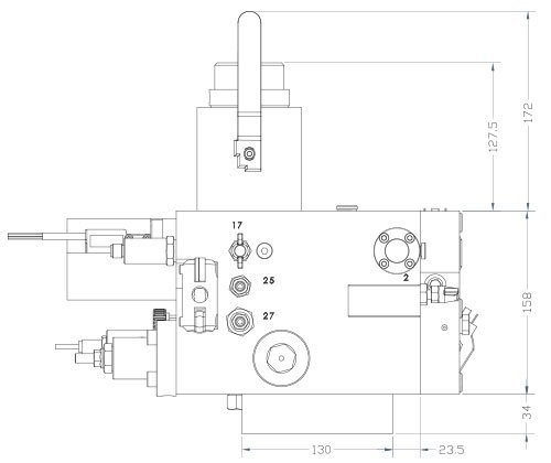 disegni centralina HSe700 1