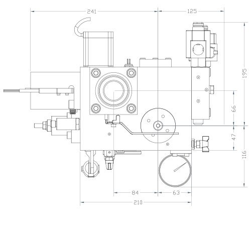 disegni centralina HSe700 2