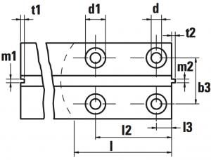 guide ascensori lavorate alta qualità GE disegno 300x228