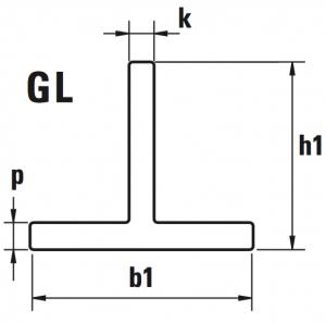 guide ascensori trafilate GL disegno 300x297