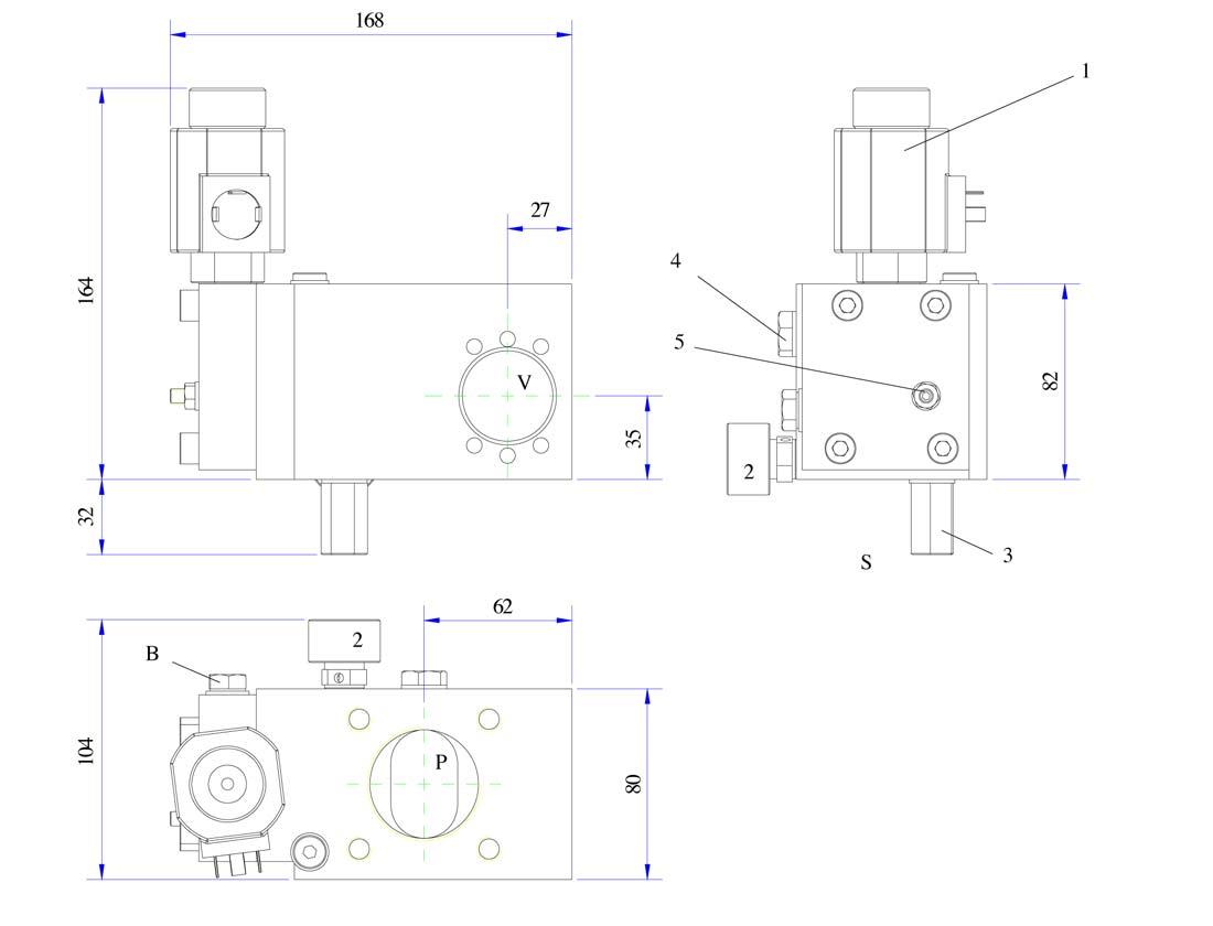disegni valvola 0,5 DS