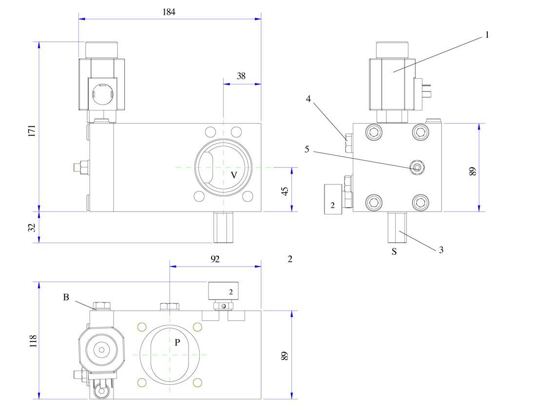 disegno valvola DS 2