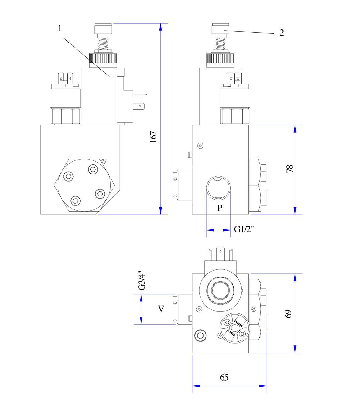 disegno valvola DS piccola
